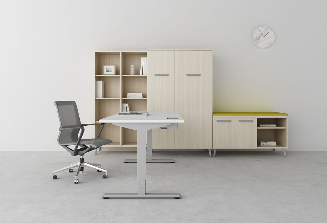 Dash private office with My-Hite standing desk