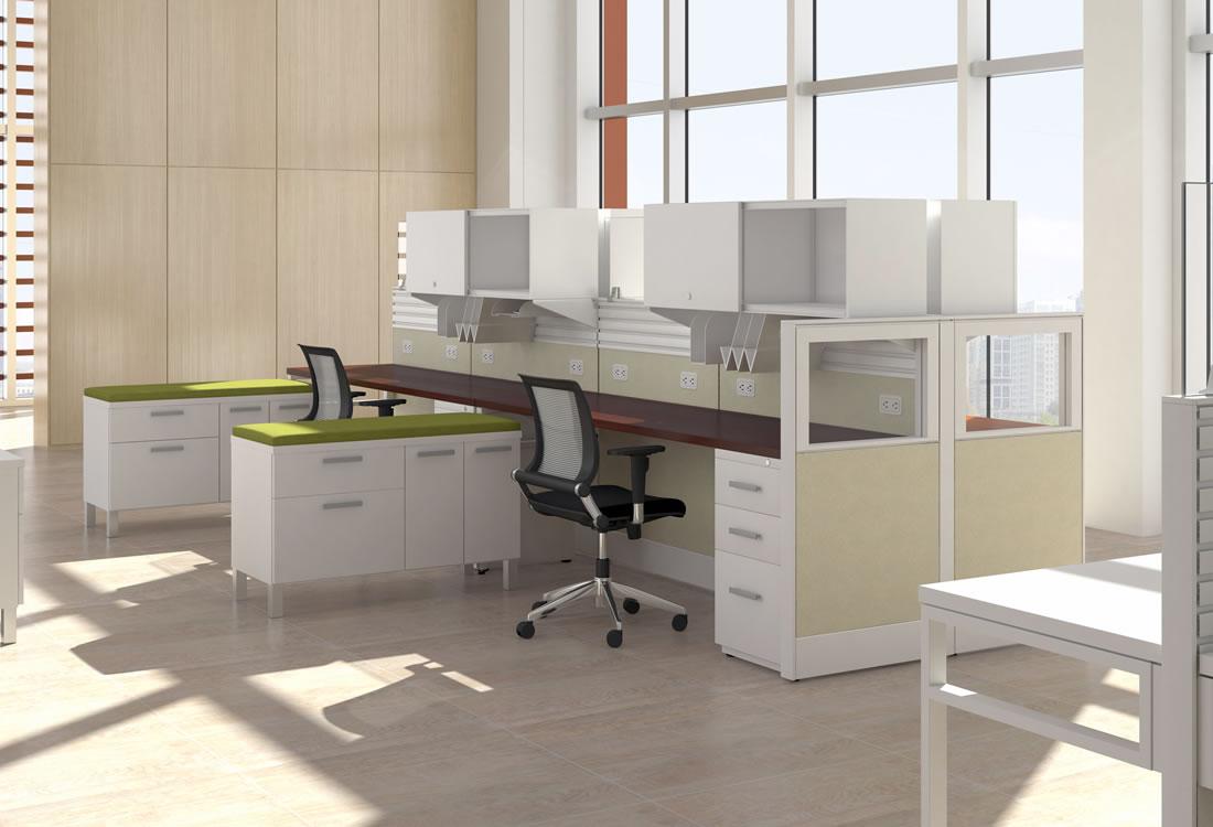 Interra cubicles, small format
