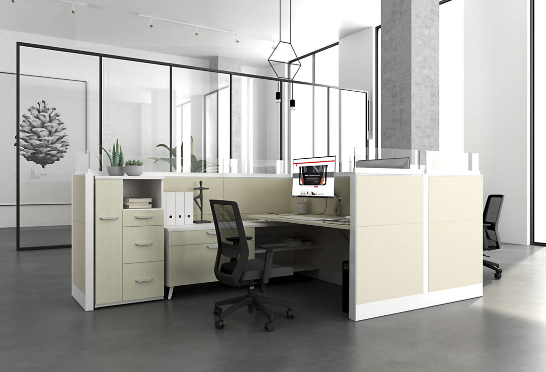Interra cubicle with options