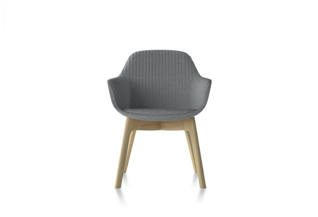 Jest wood guest chair.