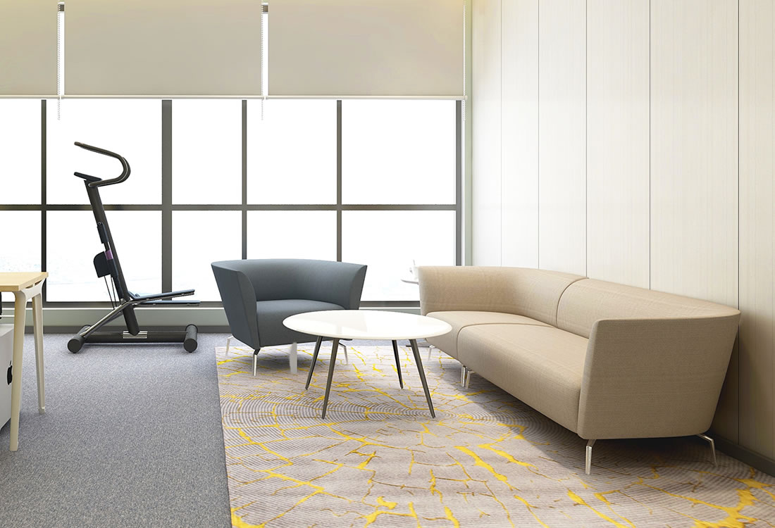Soft seating-the Anza collection.