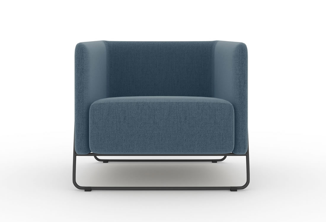 Soft seating-the Hanno chair.