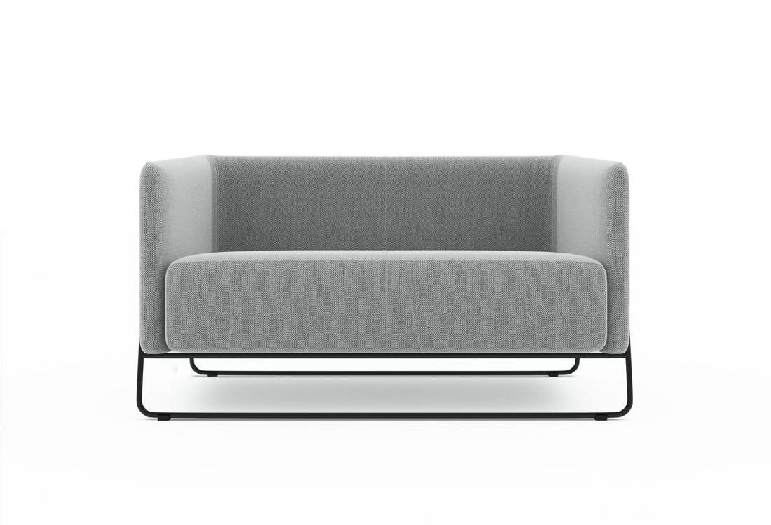 Soft seating-The Hanno loveseat.