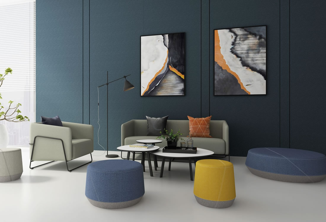 Soft seating-The Pog II collection.