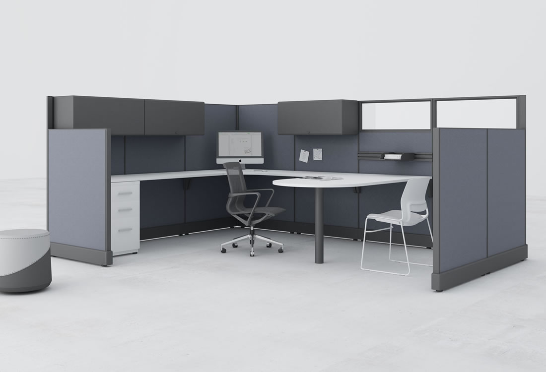 System Two cubicle, extra large